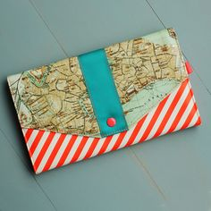 Here and Canal Travel Wallet $39.99
