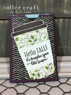 Moon baby gift card holder team inking everything pinterest today i am sharing a gift card holder that i made with the merry cafe stamp set and the coordinating coffee cups framelits i am putting my business cards colourmoves