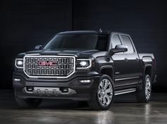 We ask whether you'd choose the 2016 Chevrolet Silverado, or the 2016 GMC Sierra in our latest Car Clash. Both the 2016 Silverado and Sierra sport new designs. Gmc Sierra Denali, Gmc Denali, Sierra Gmc, Sierra Truck, Denali Hd, Chevrolet Silverado, Buick Gmc, General Motors, Chevy Trucks