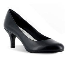 Easy Street Passion Women's Dress Heels, Size: medium (8.5), Black