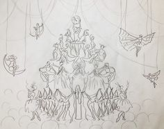 "https://flic.kr/p/U9QNz6 | Sketch for ""The Height of Folly"""