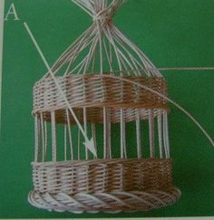 Basketry for dummies - step 5 The Effective Pictures We Offer You About projects for toddlers A quality picture can tell - Vinyl Projects, Projects To Try, Basket Weaving, Plant Hanger, Quilling, Photo Booth, Macrame, Origami, Creations