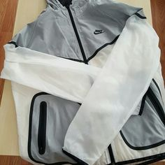 Nike Hyper Tech Windrunner Worn once.  Great condition. Like new.  Women's XL.  Price is firm. Nike Jackets & Coats