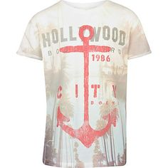 boys * fashion * my boy: RIVERISLAND boys ecru Hollywood anchor t-shirt - Zu cool, wollen wir haben!