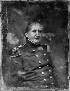 Ichabod B. Crane, three-quarter length portrait, facing slightly right. Photographed by Mathew Brady around 1850. Crane was aåÊColonel, 1st Artillery, U.S. Army at the time.