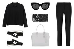 """""""Untitled #568"""" by aneteanete ❤ liked on Polyvore featuring Monki, Joseph, Alexander McQueen and New Balance"""
