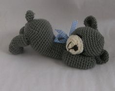 "sleepy bear ""Willi"" crochet pattern"
