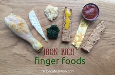 iron rich finger foods for babies 6 months+.