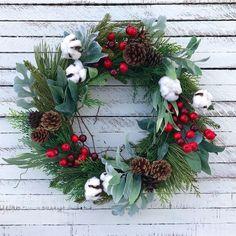 88 Cool Rustic Wreaths Christmas Decoration Ideas