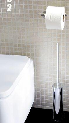 Accesorios de baño de BEMEDE. Colección 102.Portarrollos y escobillero de  suelo. dc53e6f5988b