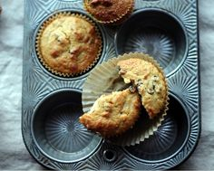 coconut flour chocolate chip muffins