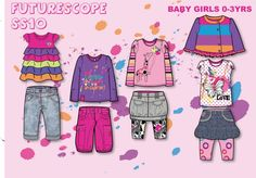 Adams Childrenswear Ltd Baby Girls 0-3yrs by Hannah Wells at Coroflot.com