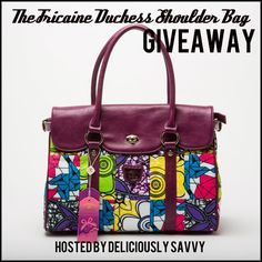 The Fricaine Duchess Shoulder Bag Giveaway