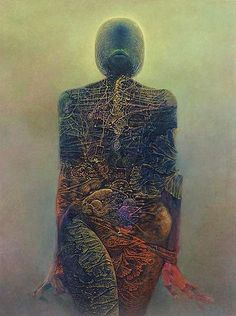 Zdzislaw Beksinski Gallery: Gallery of the year 1983