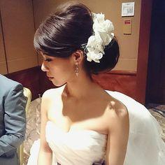 weddinghair Tomoyo Kitamura (@tmy_o3.pugmi) on Instagram