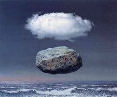 Les idees claires, by Rene Magritte, 1958.