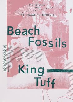 Beach Fossils, King Tuff - Damien Tran