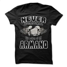 Never Underestimate The Power Of ... ARMAND - 99 Cool N - cheap t shirts #denim shirts #college sweatshirt