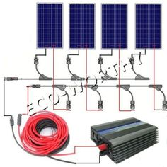 658.80$  Buy now - http://aliqb4.worldwells.pw/go.php?t=1571584454 -  Large EU style 400W COMPLETE KIT: 4*100W WATT PV poly Solar cell Panel 12V On Grid Solar System With CE Certification 658.80$