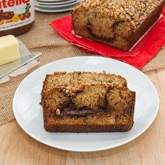 Chocolate-Hazelnut Banana Bread