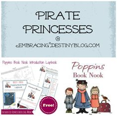 Themed reading for preschool/early elementary: Pirates {Poppins Book ...