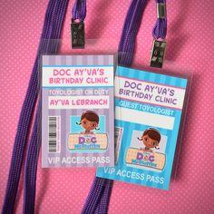 Que tal amigas hoy les traemos estas lindas y originales invitaciones de la Doctora Juguetes para la...