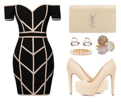 """""""Untitled #993"""" by claire394 ❤ liked on Polyvore featuring Command, Charlotte Russe, Yves Saint Laurent and Ippolita"""
