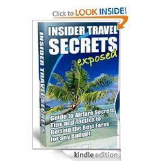Insider Air Travel Secrets, $0.99 http://www.amazon.com/Insider-Secrets-30-50-Less-Consistently-ebook/dp/B007I4BWJO/ref=pd_sim_kstore_1?ie=UTF8&m=AG56TWVU5XWC2