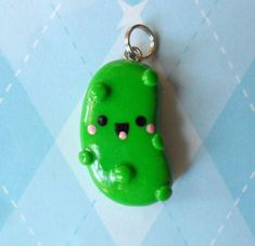 I WANT THIS!!!! Pickle Polymer Clay Charm!! | DIY | Pinterest ...