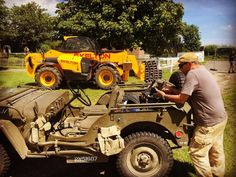 The preparations for the War and Peace Revival are on going. Our Willy's Jeep has just arrived on site. #warandpeacerevival #willysjeep #reenactment #vintage #classic #military #usarmy #wwii #wwii #secondworldwar #firstworldwar #battleofbritain #dday