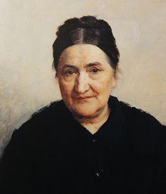 """Vlaho Bukovac (Croatian 1855–1922), """"Portrait of Katarina Bibica""""."""