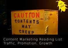 Content Marketing Reading List: Traffic, Promotion, Growth