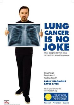Lung cancer is no joke.