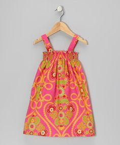 Take a look at this Sherbet Sierra Dress - Infant, Toddler & Girls by Hippo Hula on #zulily today!