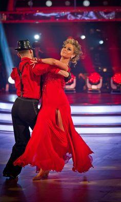 Strictly Come Dancing - Holly & Artem Ballroom Dance Dresses, Ballroom Dancing, Argentine Tango, Strictly Come Dancing, Just Dance, Good Times, Bring It On, Ballet, Passion