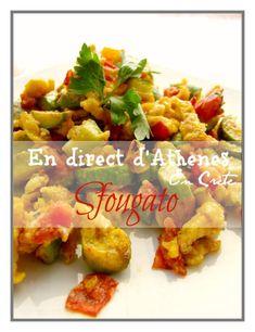 Σφουγγάτο On rencontre de nombreuses recettes différentes d'une île à l'autre... Souvent présenté comme une omelette au four, le sfougato crétois a plutôt des airs de piperade... Un plat complet ou un mezes, sain, simple et rapide... Ingrédients : Pour...