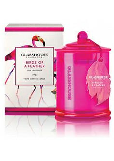 Glasshouse Birds of a Feather Scented Candle
