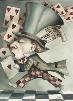 Dominic Murphy. Alice in Wonderland.
