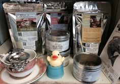 Devotea has a wide range of tea, soaps, lipbalm, meat rubs, and tea infusers.  If you are a tea lover, this is the place to shop!