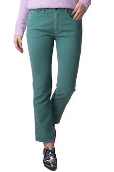3cd9fb0bc9b SEE BY CHLOE Soft Corduroy Trousers Size 28 Cropped Straight Leg RRP 175   fashion