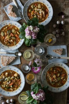 Vegetable soup for cold winter days @vibecke66