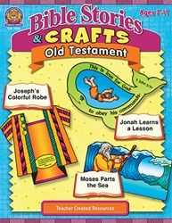 Bible Stories & Crafts Old TCR7058