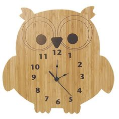 Trend Lab Owl Wall Clock $27