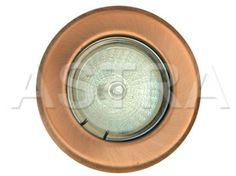 Recessed Adjustable Downlight 12V Low Voltage MR16 - Antique Copper (Item shown is Antique Copper) www.astra247.com