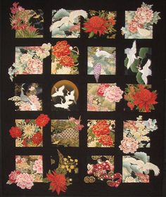 20 Asian Blocks Quilt Pattern DIY Quilting Great for Large Scale Fabrics #WillowBrookQuilts