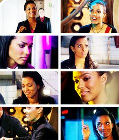 "Martha Jones: ""It's all right for you. You can just come and go. But some of us have got to stay behind. So I've got to work from the inside. And by staying inside maybe I stand a chance of making them better."" #doctorwho"