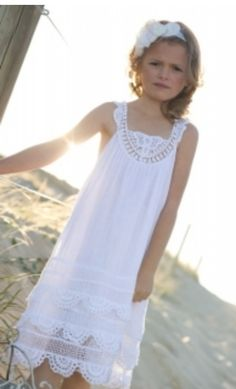 perfect simple flowergirl shift dress by tea princess