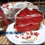 """Plumcake """"red velvet"""" per la festa della mamma Red Velvet Recipes, Kitchen Stories, Red Velvet Cupcakes, My Recipes, Frosting, Cheesecake, Sweets, Baking, Breakfast"""