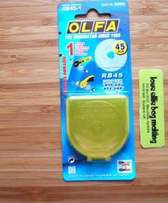 olfa 45mm blades available from loveellie.com @LoveEllieBags  P1047389