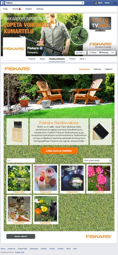 Commissioned by, and in cooperation with, Hill + Knowlton Strategies Finland we had the privilege to develop a Summer photo contest for Fiskars based on the Fanbooster platform.